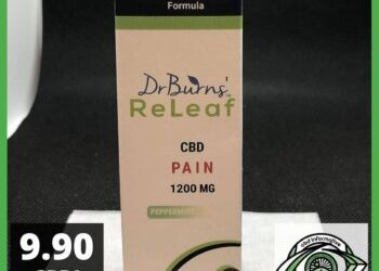 DrBurns' ReLeaf CBD Pure PAIN Review