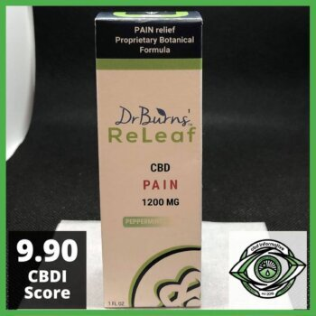 DrBurns' ReLeaf CBD Pure PAIN Review